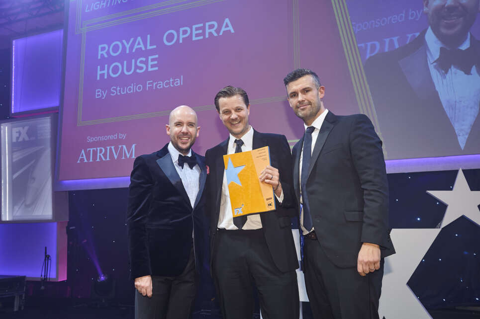 The Royal Opera House wins Best Lighting Design at the FX Awards