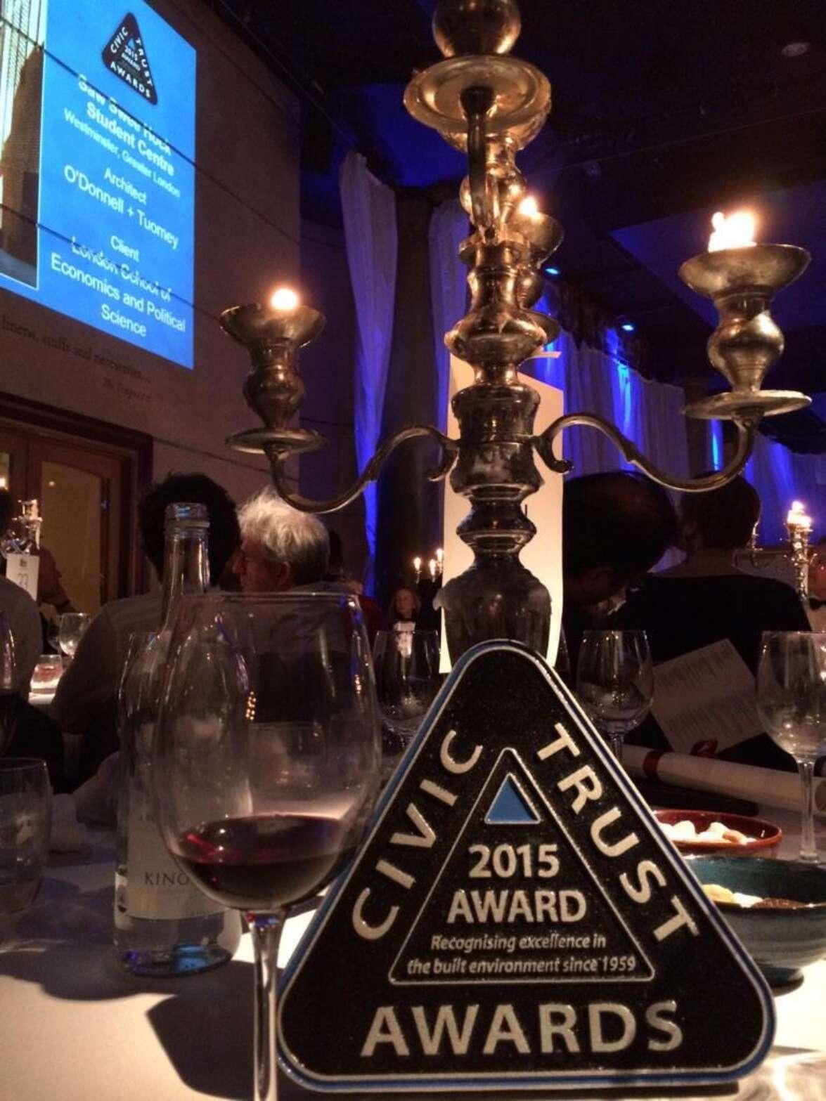 Kings Cross Square scoops Civic Trust Award