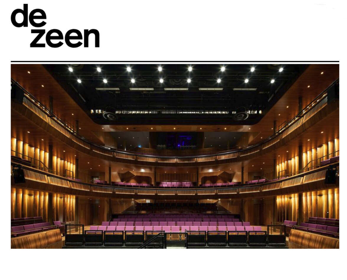 Dezeen features The Royal Opera House 'open up' project