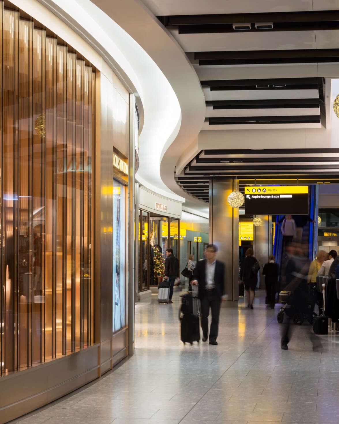 Heathrow Terminal 5 luxury retail