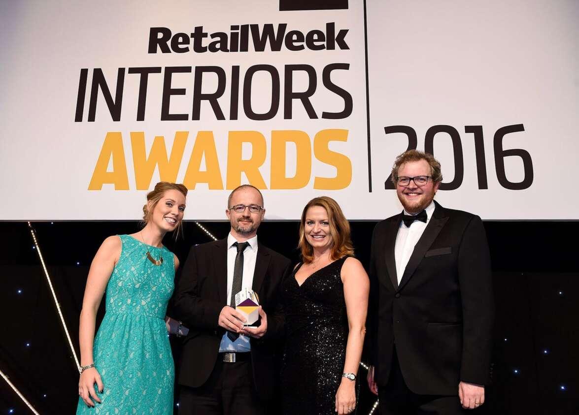 C.P. Hart wins Retail Week Interior Award