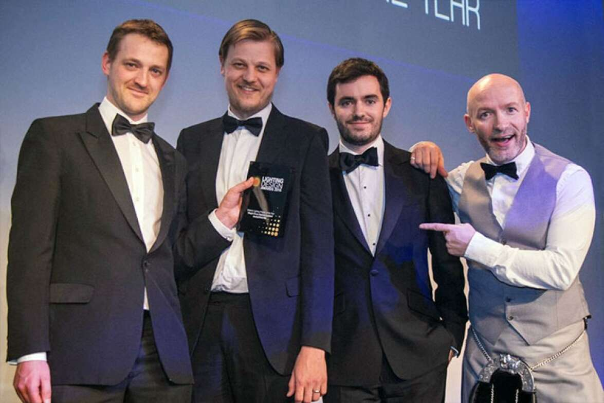 Kings Cross Square wins Exterior Lighting Project of the Year