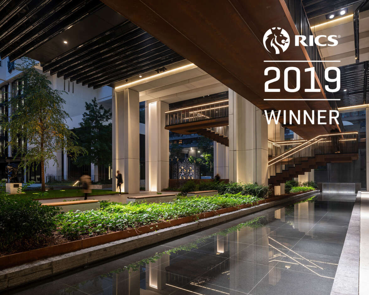 London Wall Place wins RICS commercial project of the year