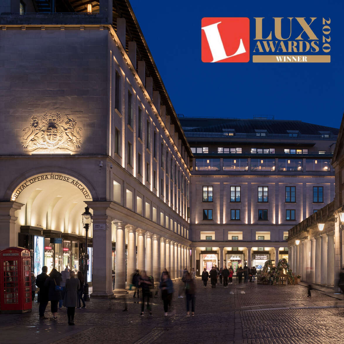 The Royal Opera House wins Lux Award