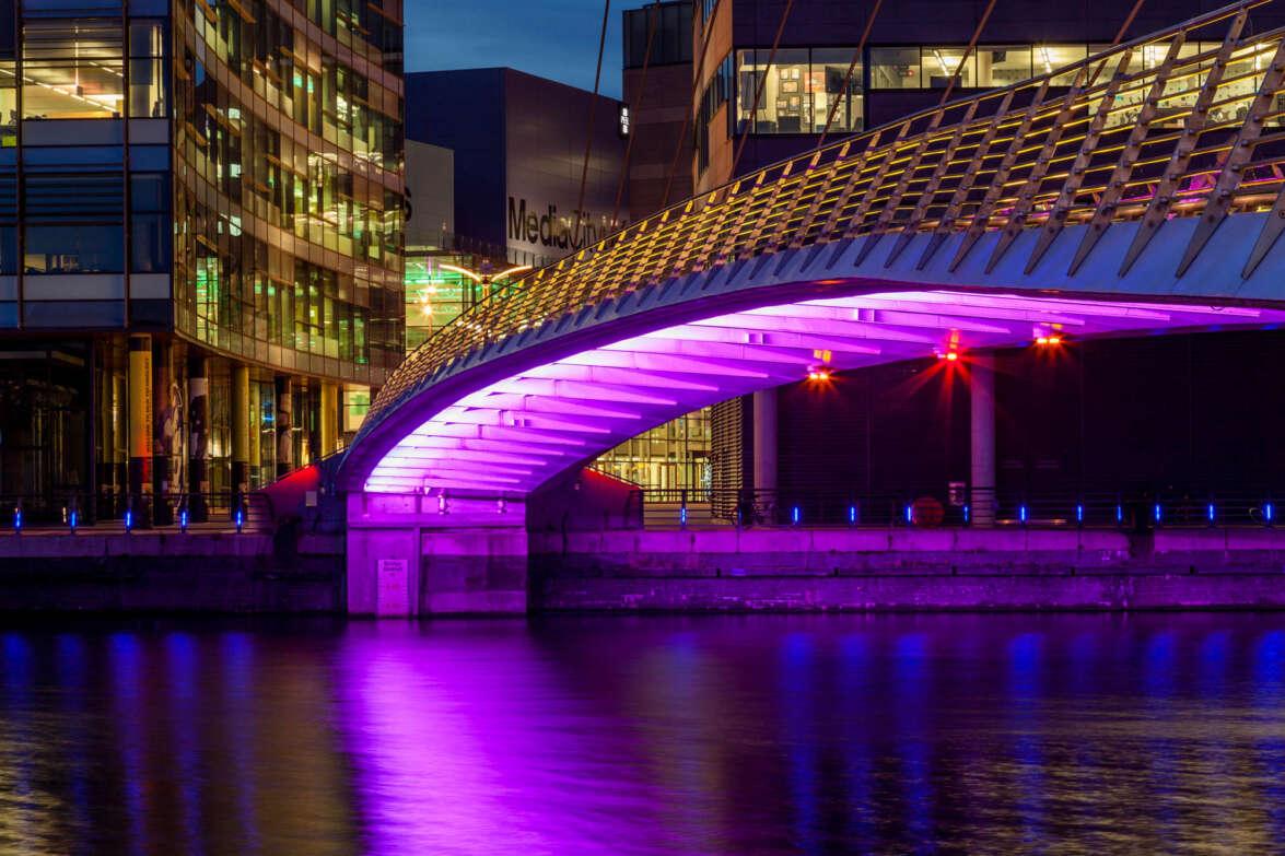 Media City & Bridge