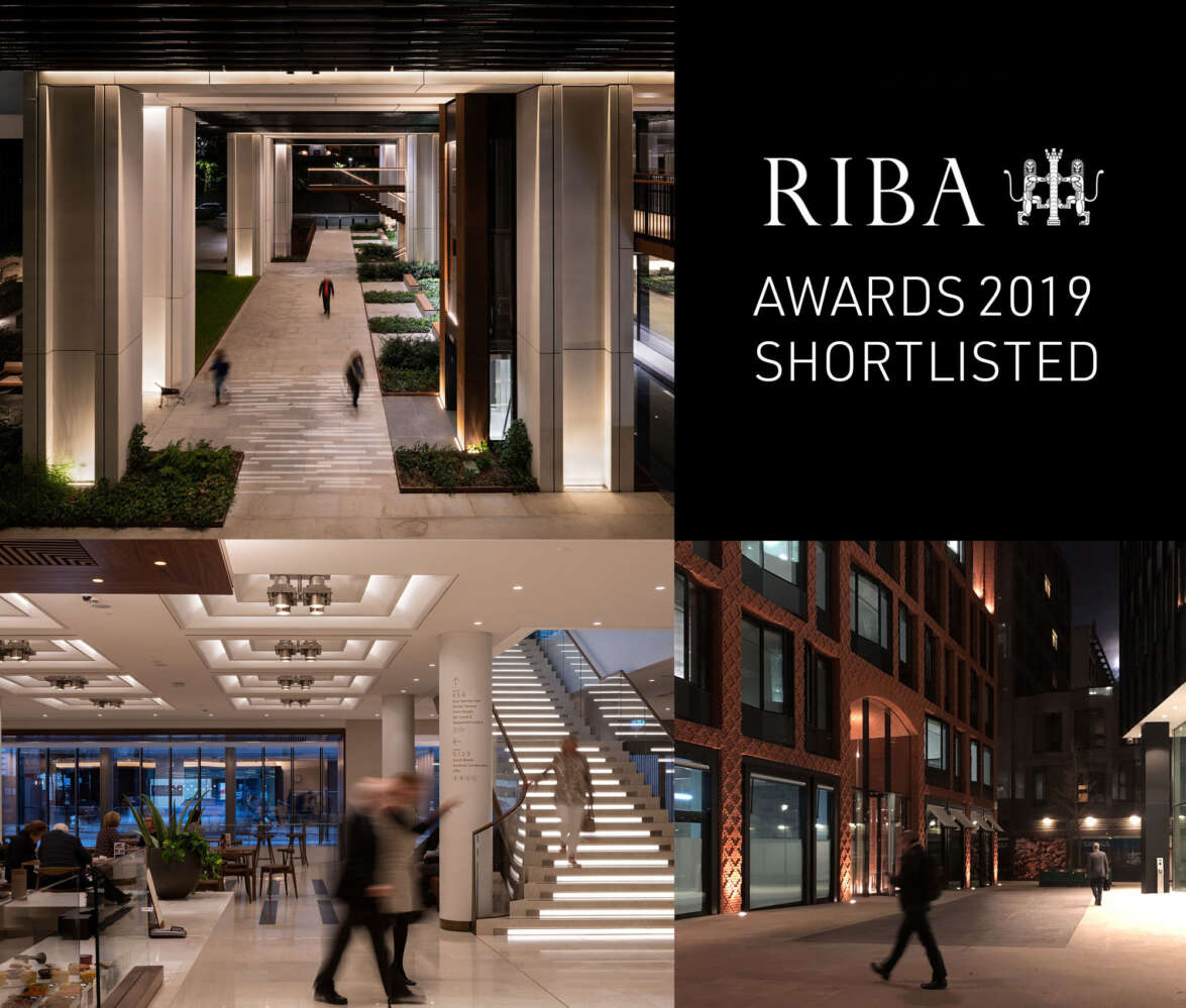 The Royal Opera House, London Wall Place and Buckingham Green shortlisted for RIBA award.