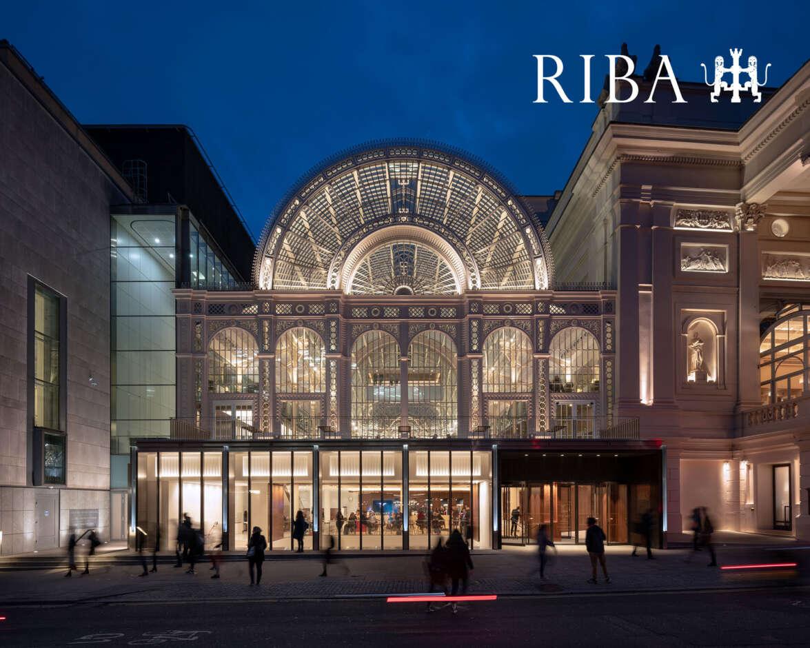 RIBA award success for the Royal Opera House