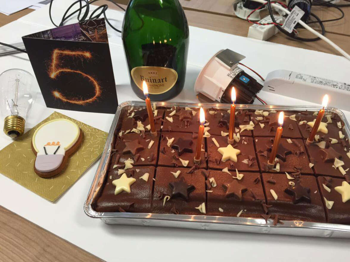 We are celebrating our 5th Birthday