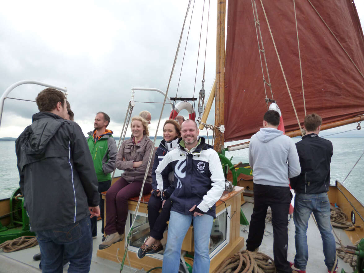 Setting sail for Cowes